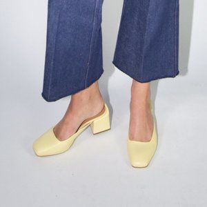 LOQ Lucia Mules in Yellow